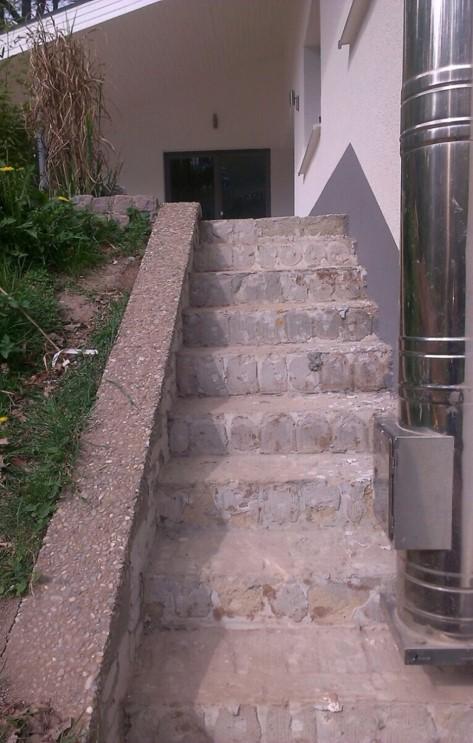 Alter Treppenaufgang