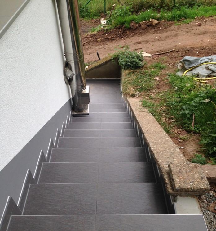 Neuer Treppenaufgang